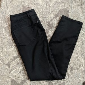 Chico's Platinum Denim black pants size 0.5/6